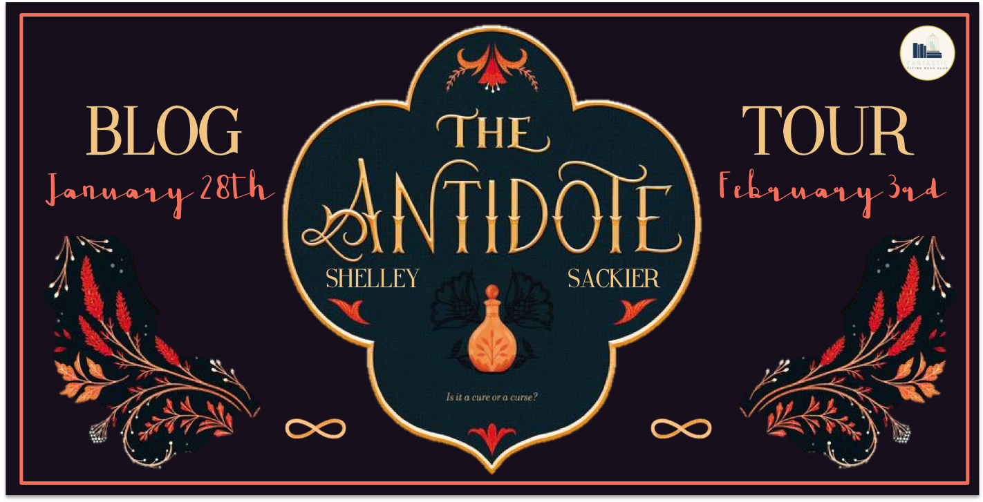 Blog Tour: The Antidote by Shelley Sackier