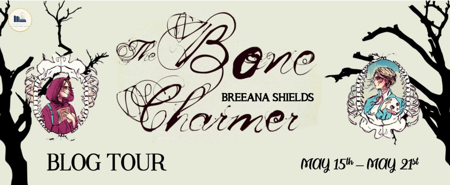 Blog Tour: The Bone Charmer by Breeana Shields
