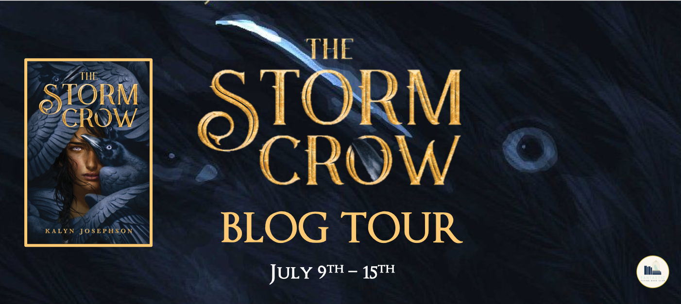 Blog Tour: The Storm Crow by Kalyn Johnson (Interview + Giveaway!)