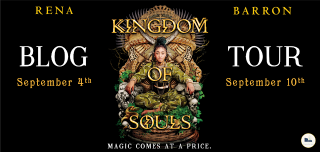 Blog Tour: Kingdom of Souls by Rena Barron (Review + Giveaway!)