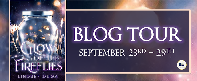Blog Tour: Glow of the Fireflies by Lindsey Duga (Guest Post + Giveaway!)