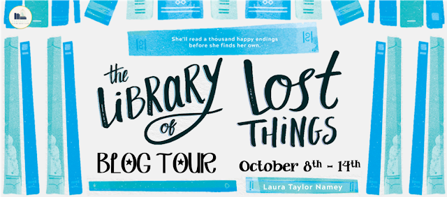 Blog Tour: The Library of Lost Things by Laura Taylor Namey (Top Ten+ Giveaway!)