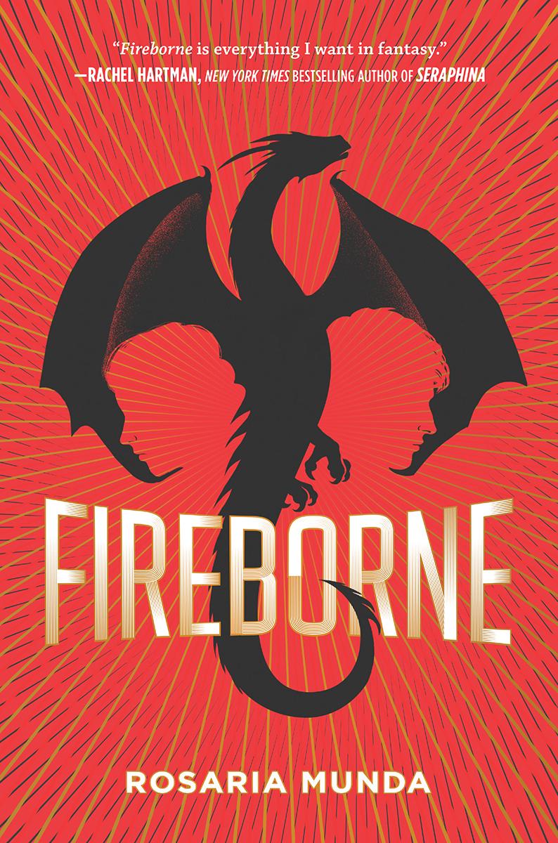 Blog Tour: Fireborne by Rosaria Munda (Creative Post + Giveaway!!!)