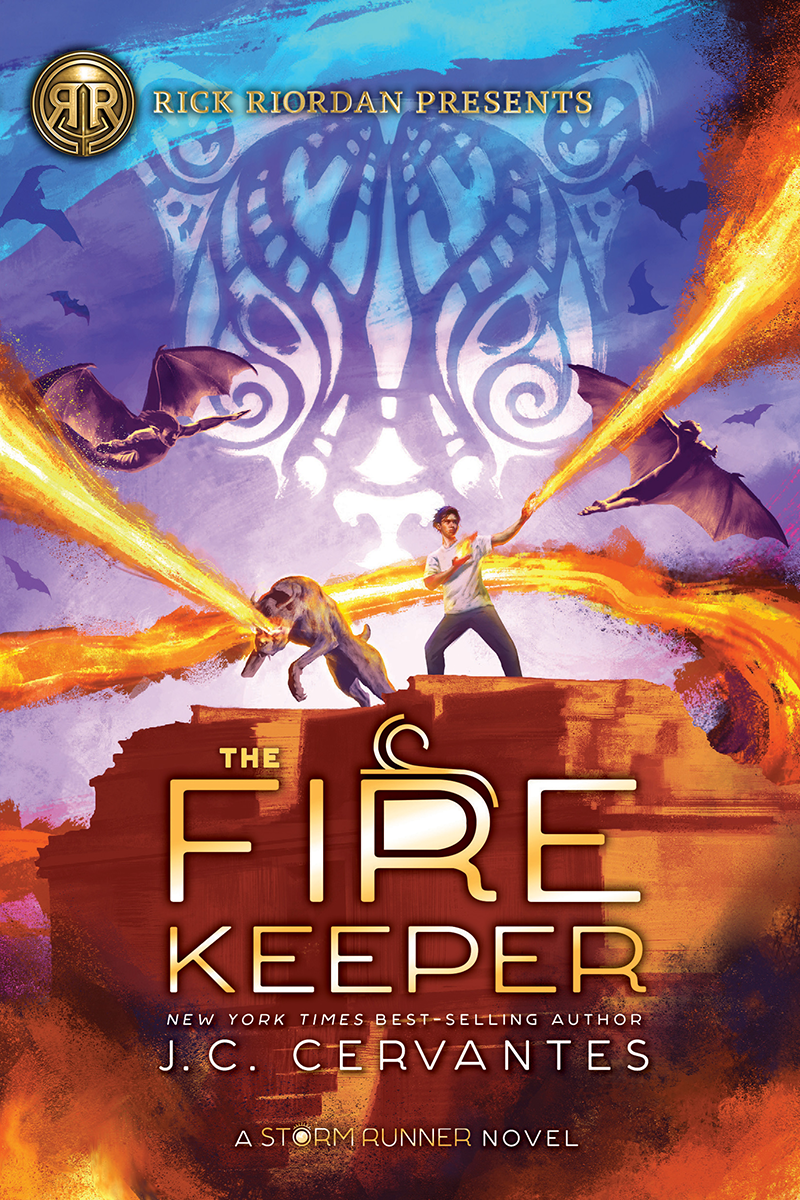 Blog Tour: The Fire Keeper by J.C. Cervantes (Spotlight + Giveaway!)