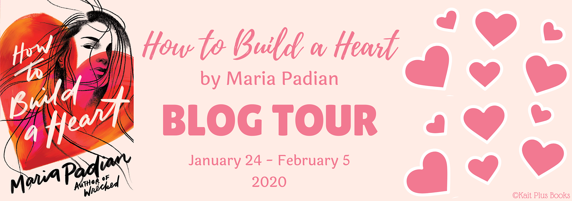 Blog Tour: How to Build a Heart by Maria Padian (Review + Giveaway!!!)