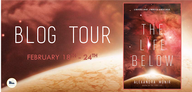 Blog Tour: The Life Below by Alexandra Monir (Interview + Giveaway!)
