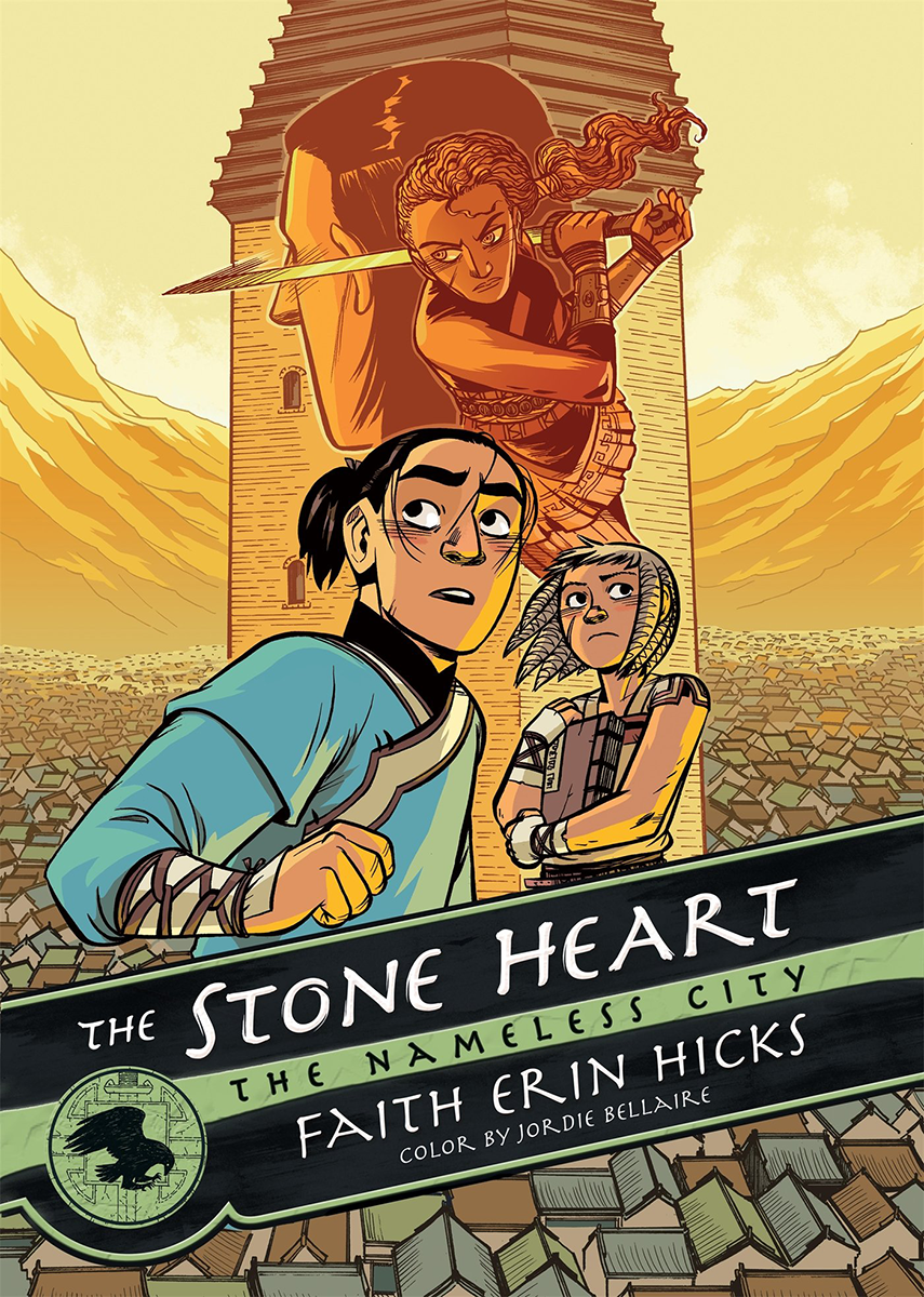 The Stone Heart (The Nameless City, #2)