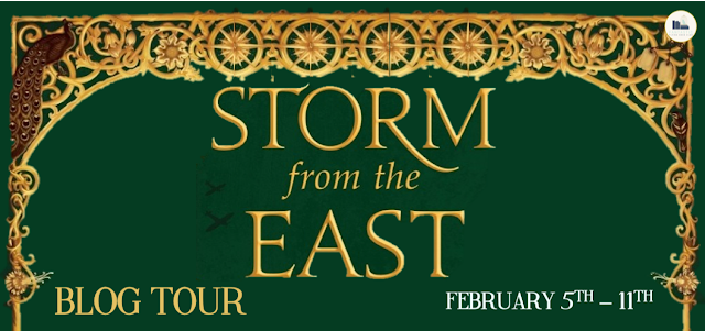 Blog Tour: Storm From the East by Joanna Hathaway (Interview + Giveaway!)