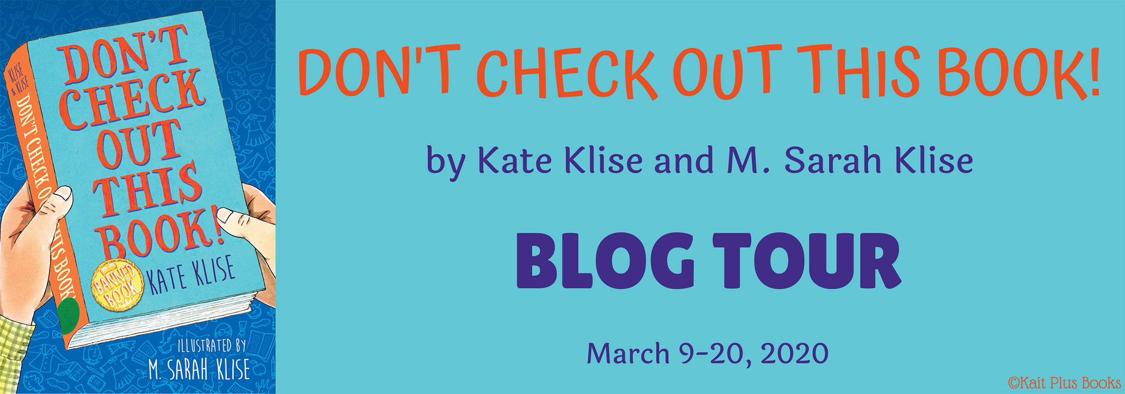 Blog Tour: Don't Check Out This Book! by Kate Klise and M. Sarah Klise (Spotlight+ Bookstagram!)