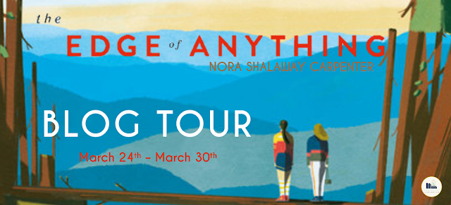 Blog Tour: The Edge of Anything by Nora Shalaway Carpenter (Top Five + Giveaway!)