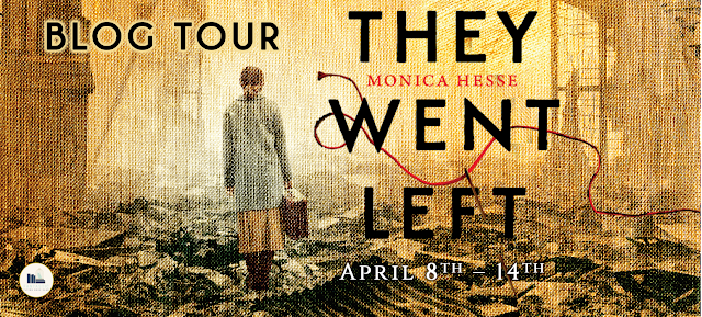 Blog Tour: They Went Left by Monica Hesse (Spotlight+ Giveaway!)