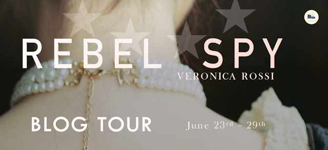 Blog Tour: Rebel Spy by Veronica Rossi (Interview + Giveaway!)