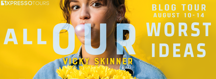 Blog Tour: All Our Worst Ideas by Vicky Skinner (Interview + Giveaway!)