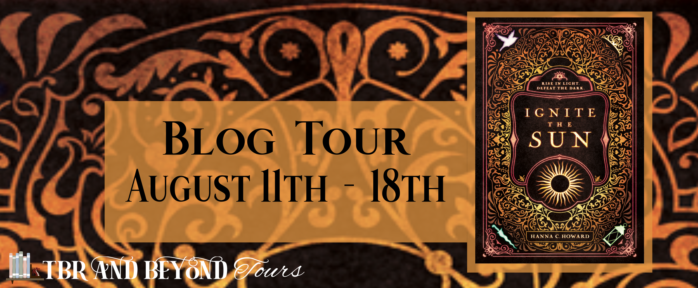 Blog Tour: Ignite the Sun by Hanna C. Howard (Interview + Bookstagram + Giveaway!!!)