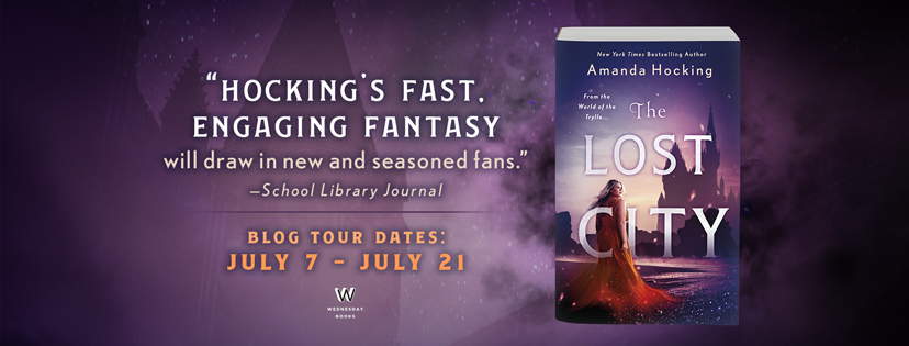 Blog Tour: The Lost City by Amanda Hocking (Excerpt!)