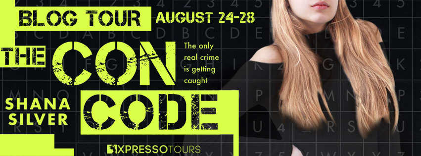 Blog Tour: The Con Code by Shana Silver (Interview + Giveaway!)