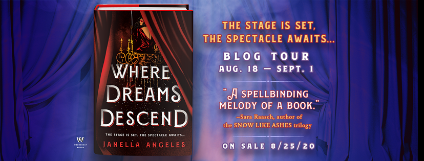 Blog Tour: Where Dreams Descend by Janella Angeles (Excerpt!)