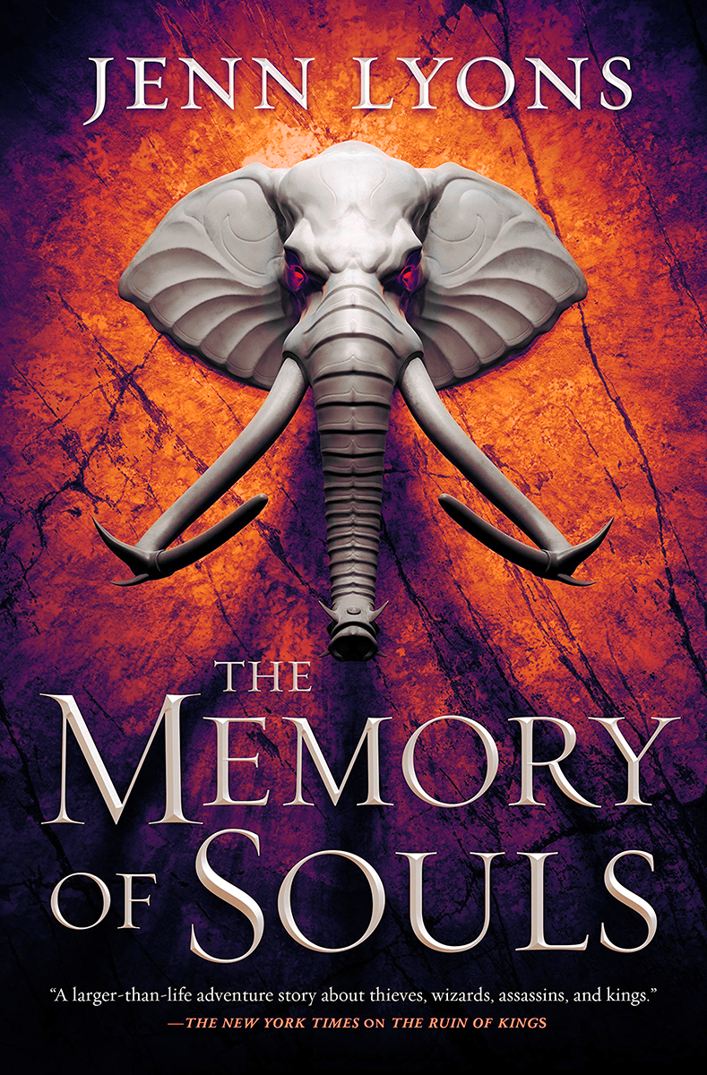 Blog Tour: The Memory of Souls by Jenn Lyons (Excerpt + Giveaway!)