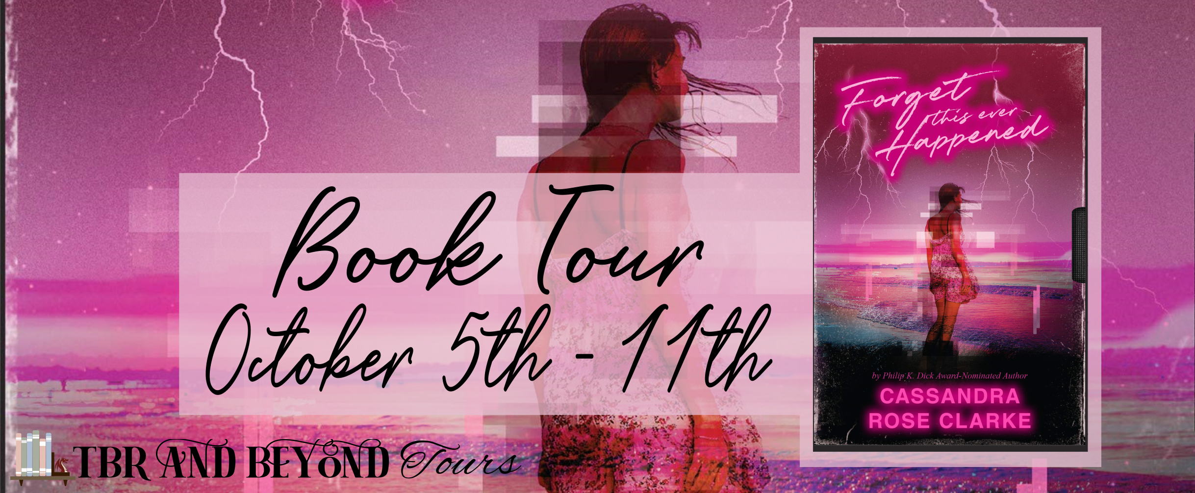 Blog Tour: Forget This Ever Happened by Cassandra Rose Clarke (Interview + Review + Giveaway!!!)