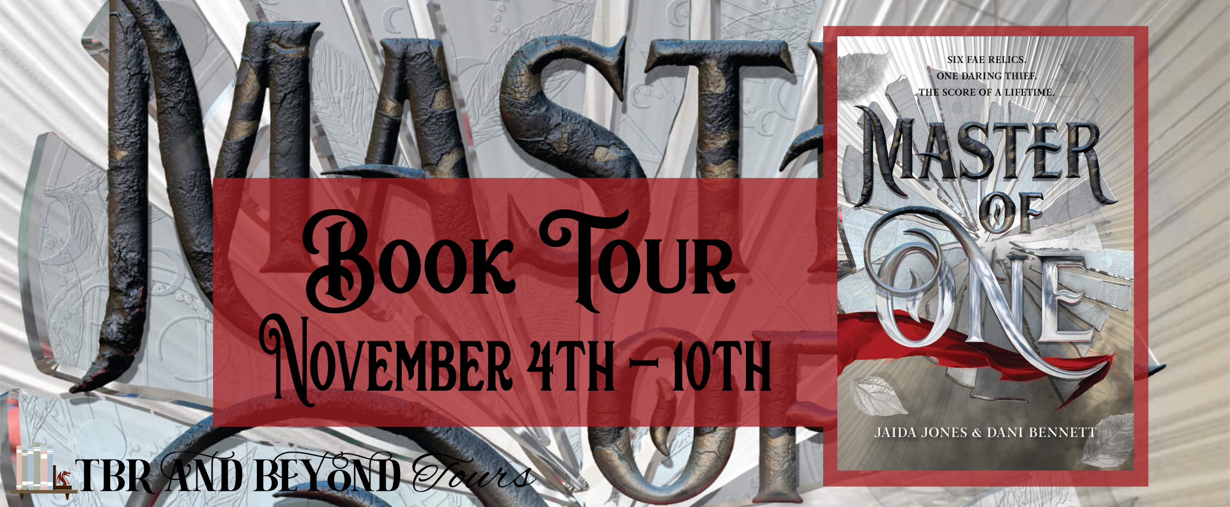 Blog Tour: Master of One by Jaida Jones and Dani Bennett (Interview + Giveaway!)