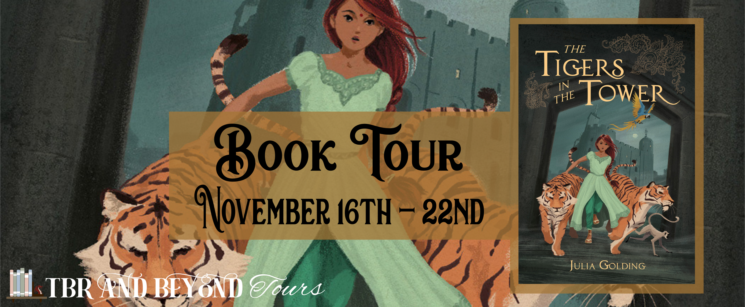 Blog Tour: Tigers in the Tower by Julia Golding (Spotlight + Giveaway!)