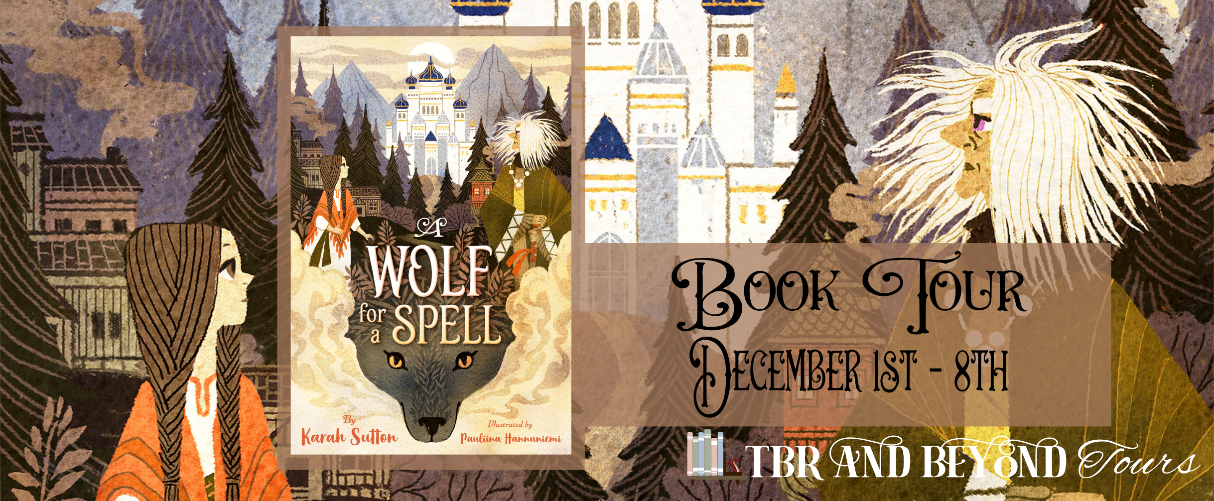 Blog Tour: A Wolf for a Spell by Karah Sutton (Spotlight!)