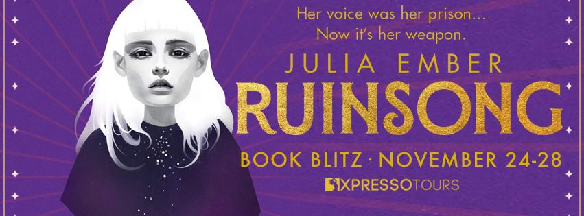Blog Blitz: Ruinsong by Julia Ember (Excerpt + Giveaway!)