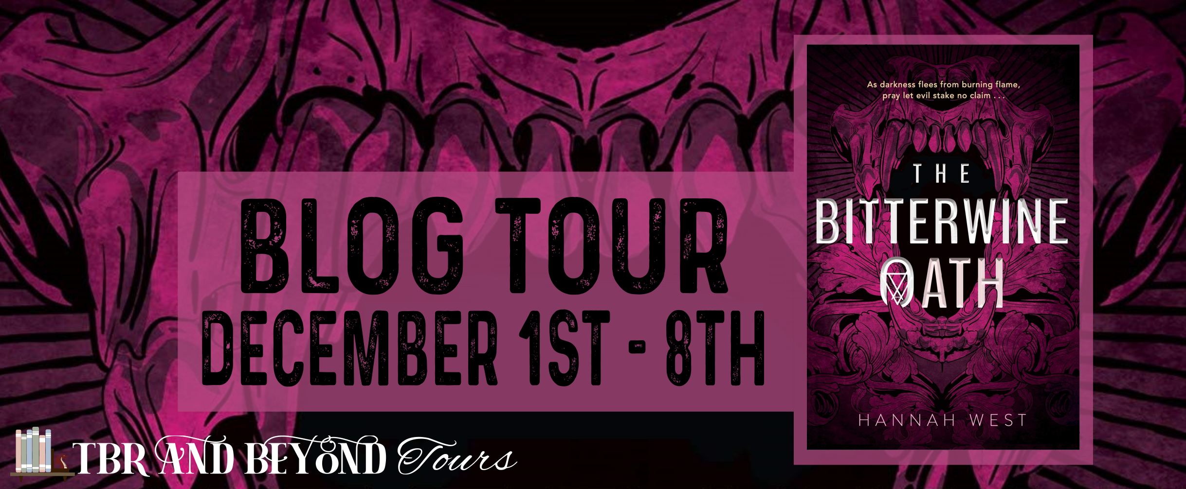 Blog Tour: The Bitterwine Oath by Hannah West (Interview + Bookstagram!)