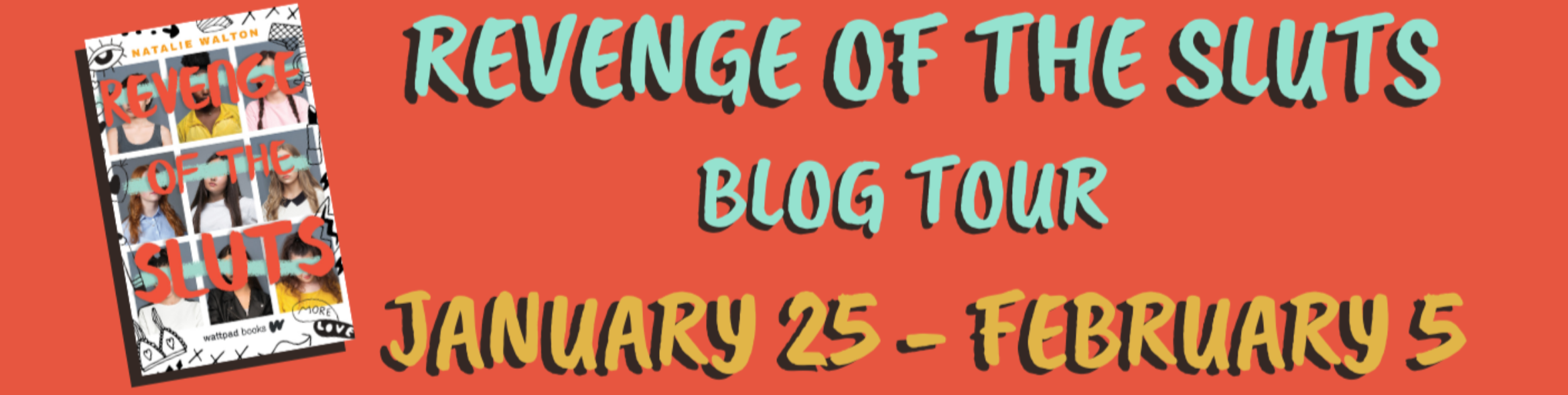 Blog Tour: Revenge of the Sluts by Natalie Walton (Interview + Giveaway!)