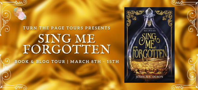 Blog Tour: Sing Me Forgotten by Jessica S. Olson (Interview + Giveaway!)