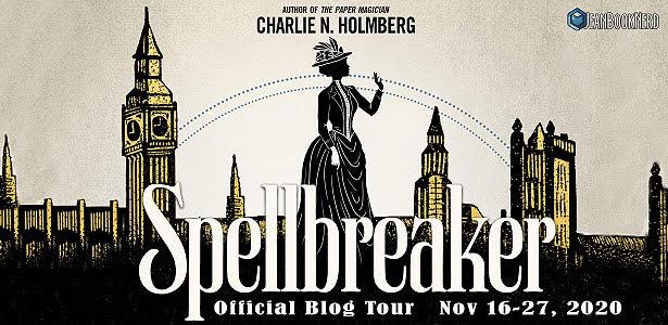 Blog Tour: Spellbreaker by Charlie N. Holmberg (Interview + Giveaway!)