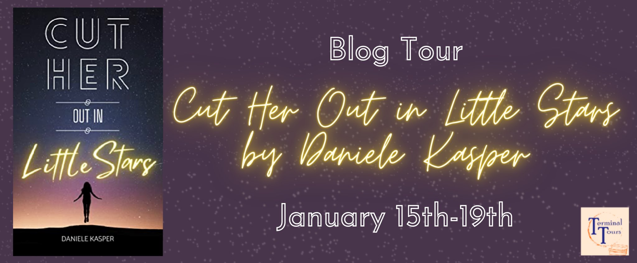 Blog Tour: Cut Her Out in Little Stars by Daniele Kasper (Interview + Giveaway!)