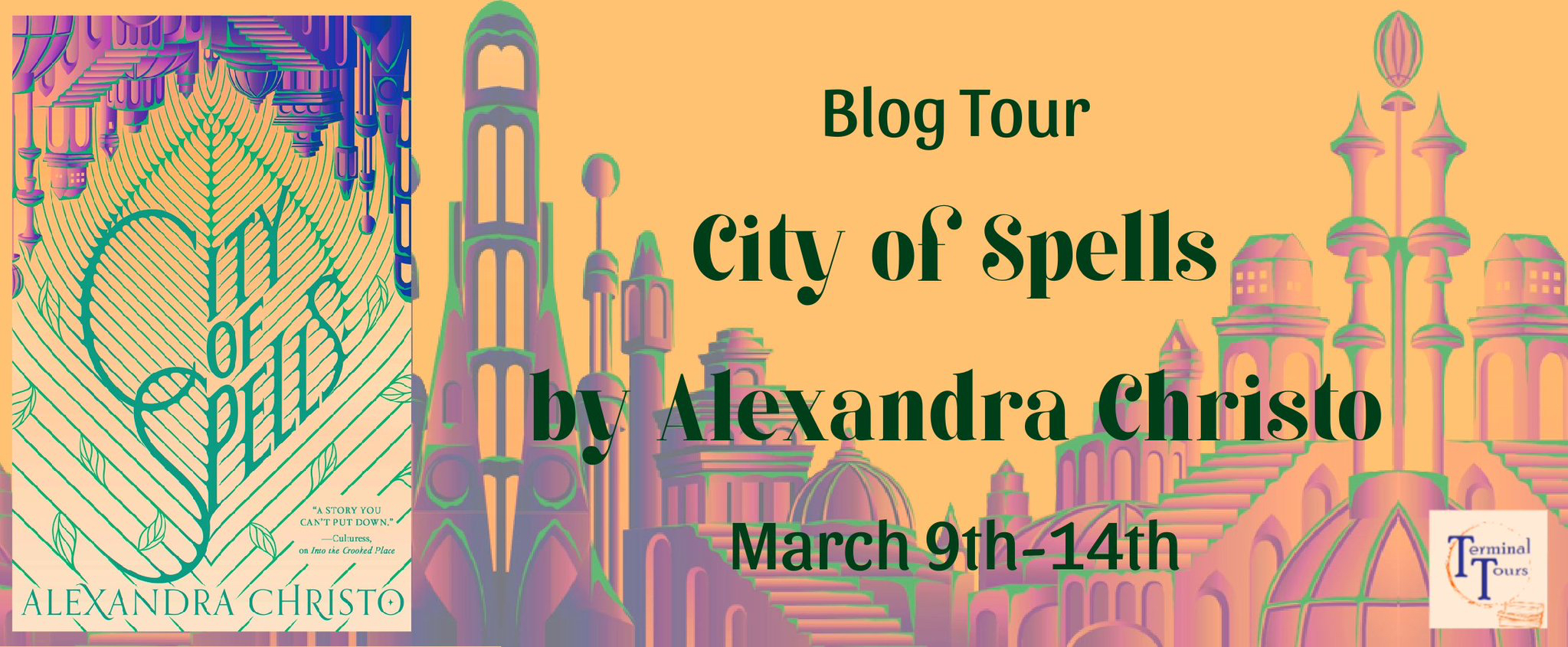Blog Tour: City of Spells by Alexandra Christo (Excerpt + Aesthetic Board + Giveaway!)