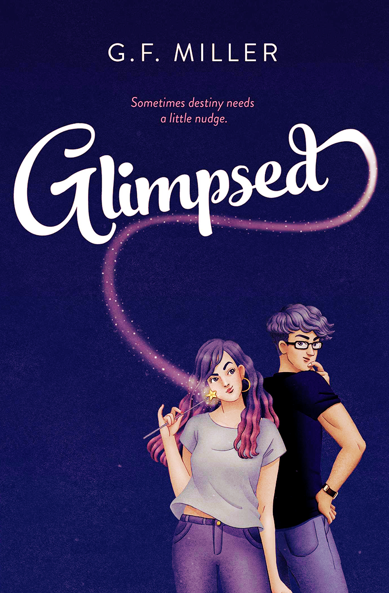 Blog Tour: Glimpsed by G.F. Miller! (Interview + Bookstagram + Giveaway!)