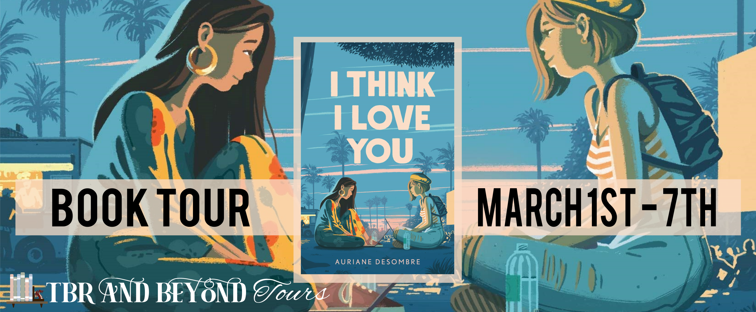 Blog Tour: I Think I Love You by Auriane Desombre (Interview + Bookstagram!)