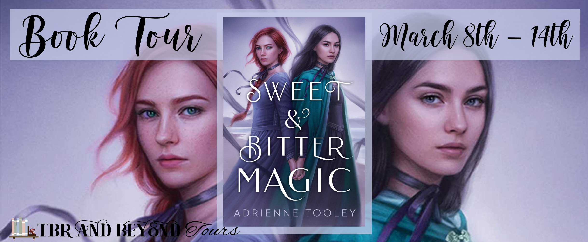 Blog Tour: Sweet & Bitter Magic by Adrienne Tooley (Interview + Giveaway!)