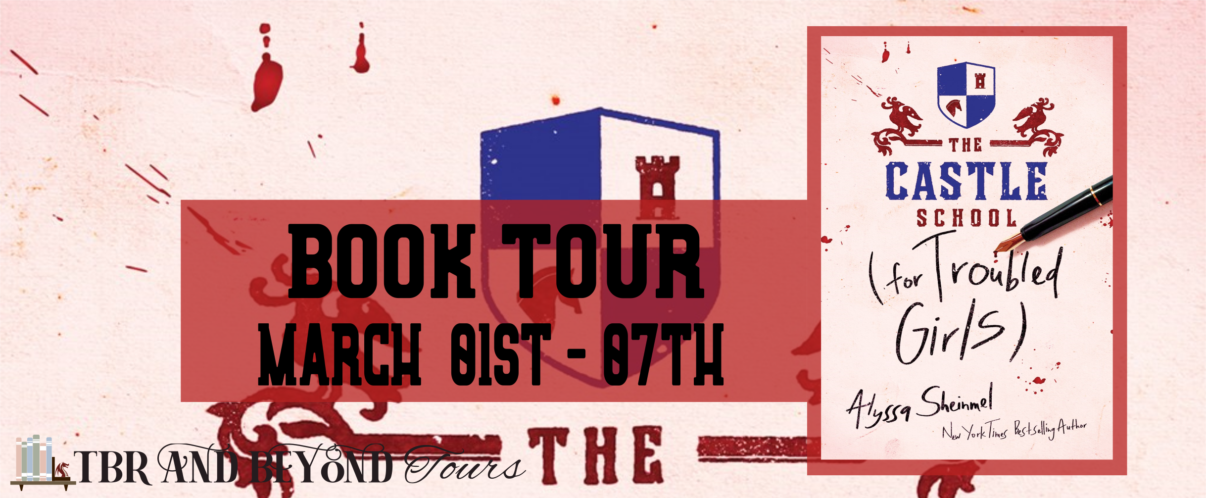 Blog Tour: The Castle School (for Troubled Girls) by Alyssa Sheinmel (Interview + Bookstagram!)