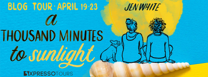 Blog Tour: A Thousand Minutes to Sunlight by Jen White (Interview + Bookstagram!)
