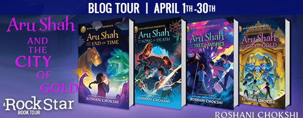 Blog Tour: Aru Shah and the City of Gold by Roshani Chokshi (Excerpt + Giveaway!)
