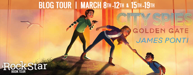 Blog Tour: Golden Gate by James Ponti (Excerpt + Giveaway!)