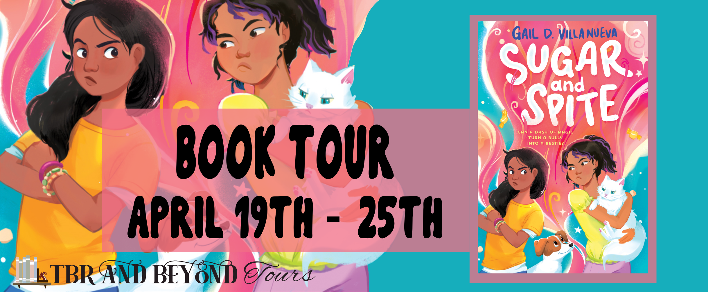 Blog Tour: Sugar and Spite by Gail D. Villanueva (Interview + Giveaway!)