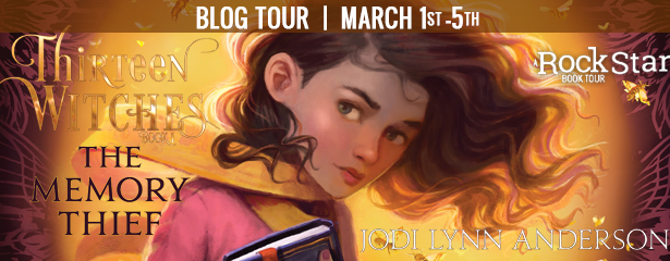 Blog Tour: The Memory Thief by Jodi Lynn Anderson (Spotlight + Giveaway!)