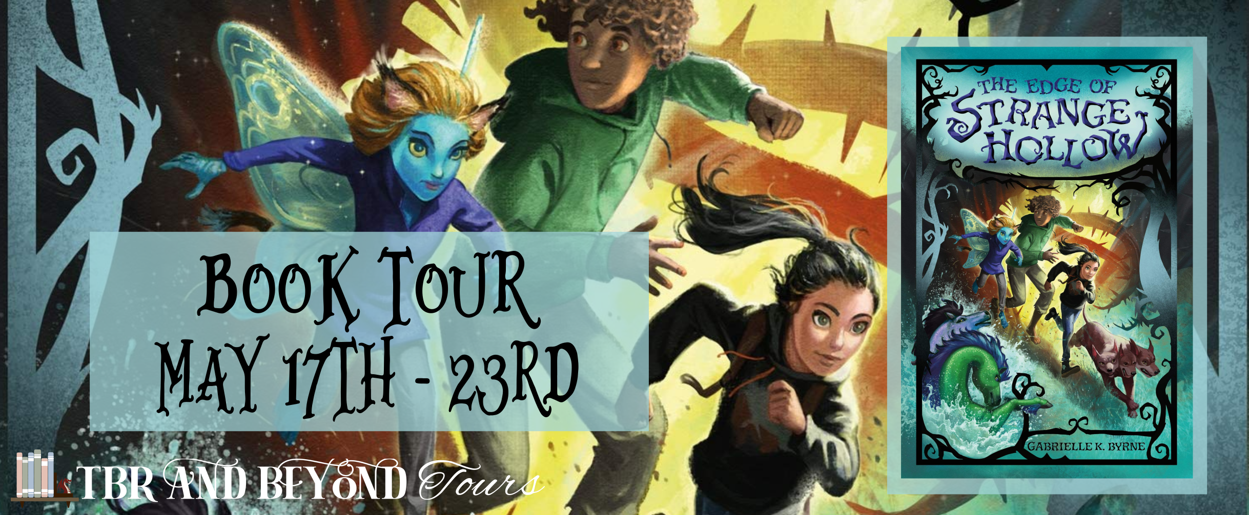 Blog Tour: The Edge of Strange Hollow by Gabrielle K. Byrne (Interview + Giveaway!)