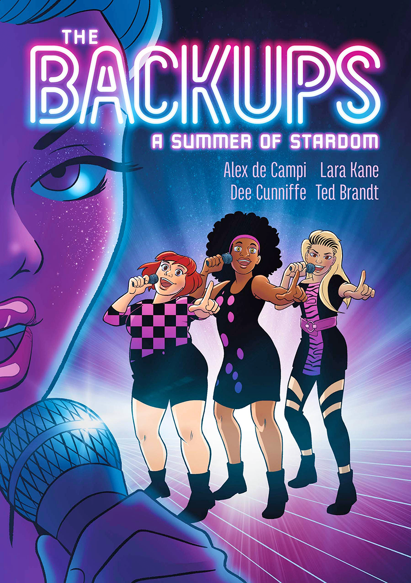 The Backups: A Summer of Stardom by Alex de Campi, Lara Margarida