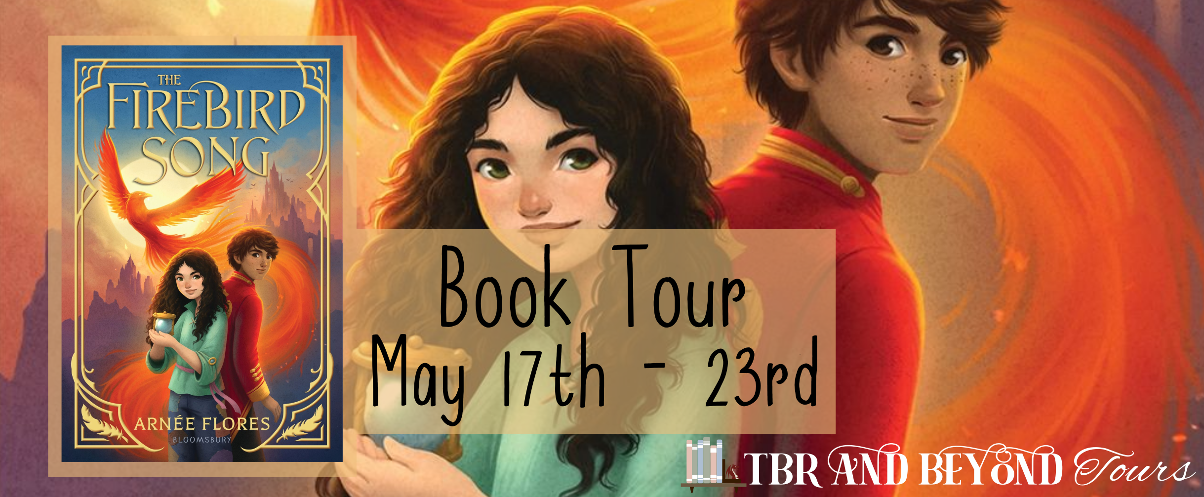 Blog Tour: The Firebird by Arnée Flores (Interview + Giveaway!)