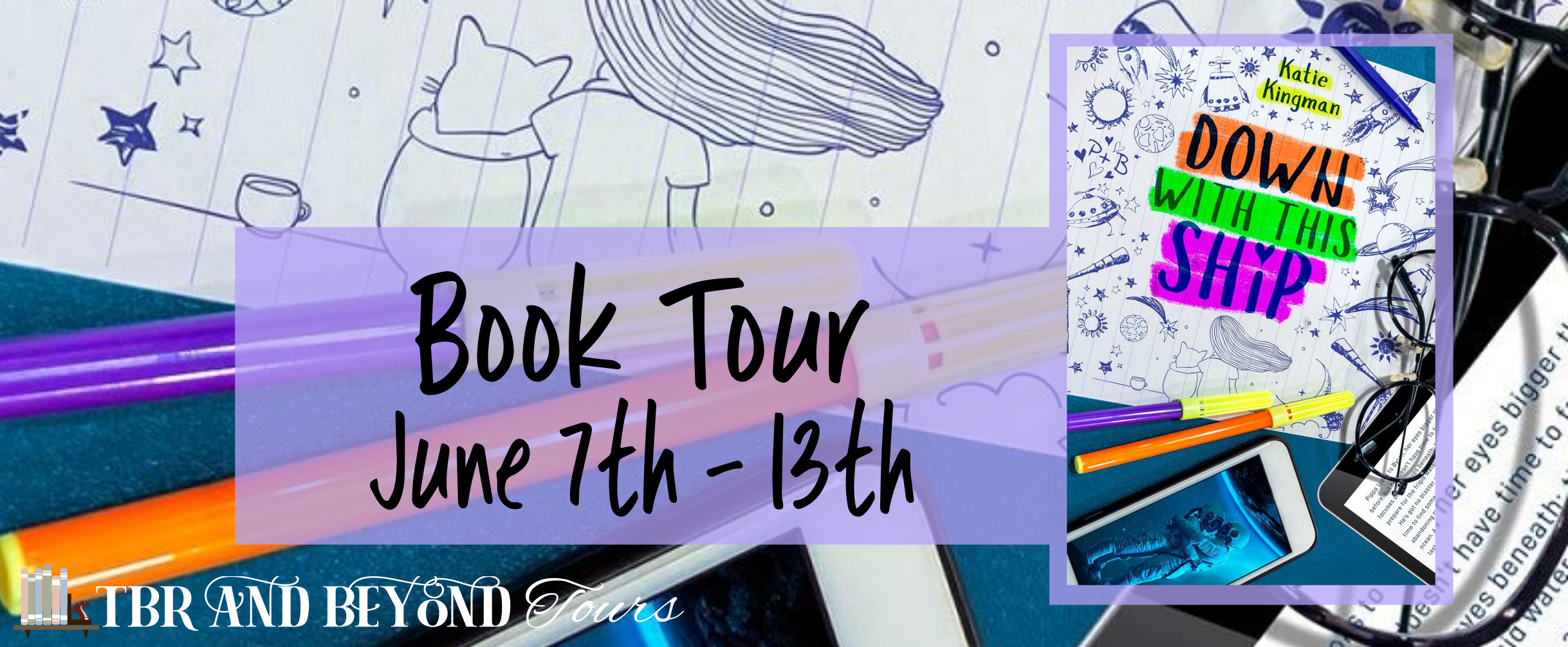 Blog Tour: Down With This Ship by Katie Kingman (Interview + Giveaway!)