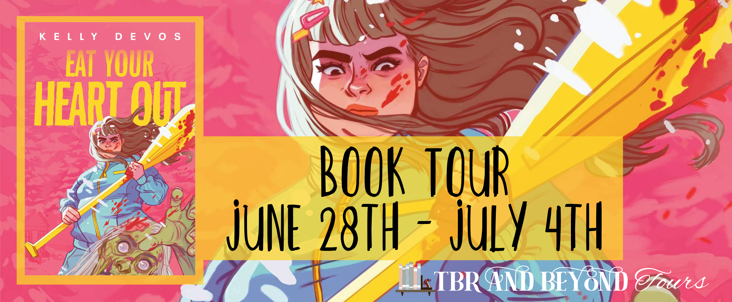Blog Tour: Eat Your Heart Out by Kelly deVos (Reading Journal + Top 5 Reasons to Read + Giveaway!)