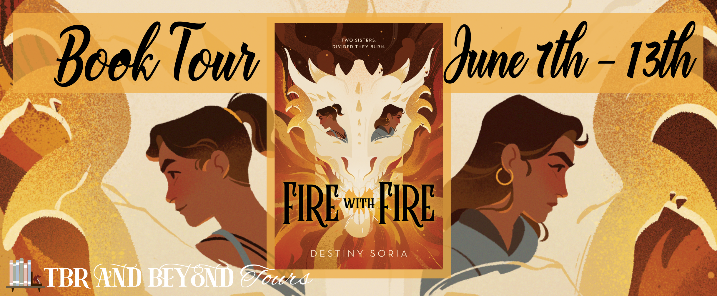 Blog Tour: Fire with Fire by Destiny Soria (Spotlight + Giveaway!)