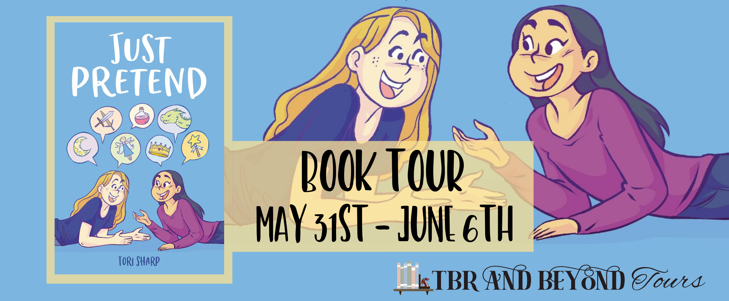 Blog Tour: Just Pretend by Terri Sharp (Interview + Giveaway!)
