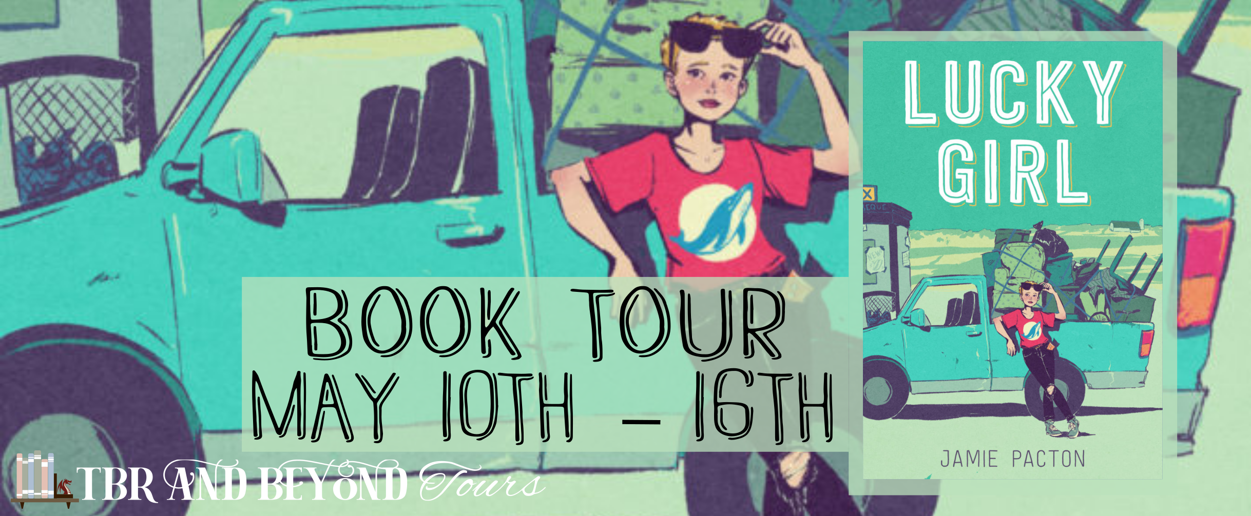 Blog Tour: Lucky Girl by Jamie Pacton (Review + Giveaway!)